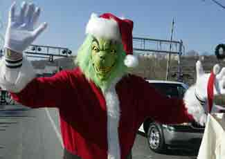Grinch in parade